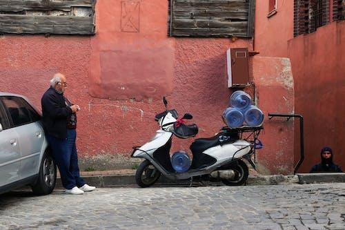 Free stock photo of adult, architecture, bike