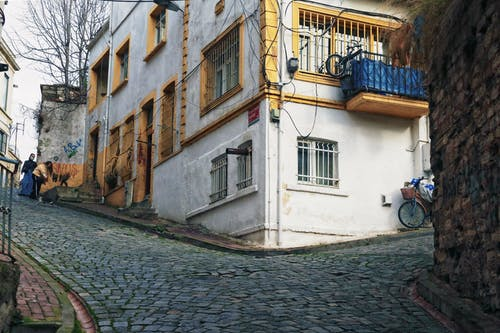 Free stock photo of alley, architecture, bike