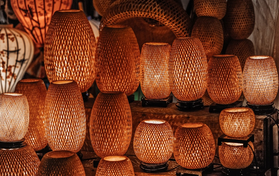 Red Table Lamps