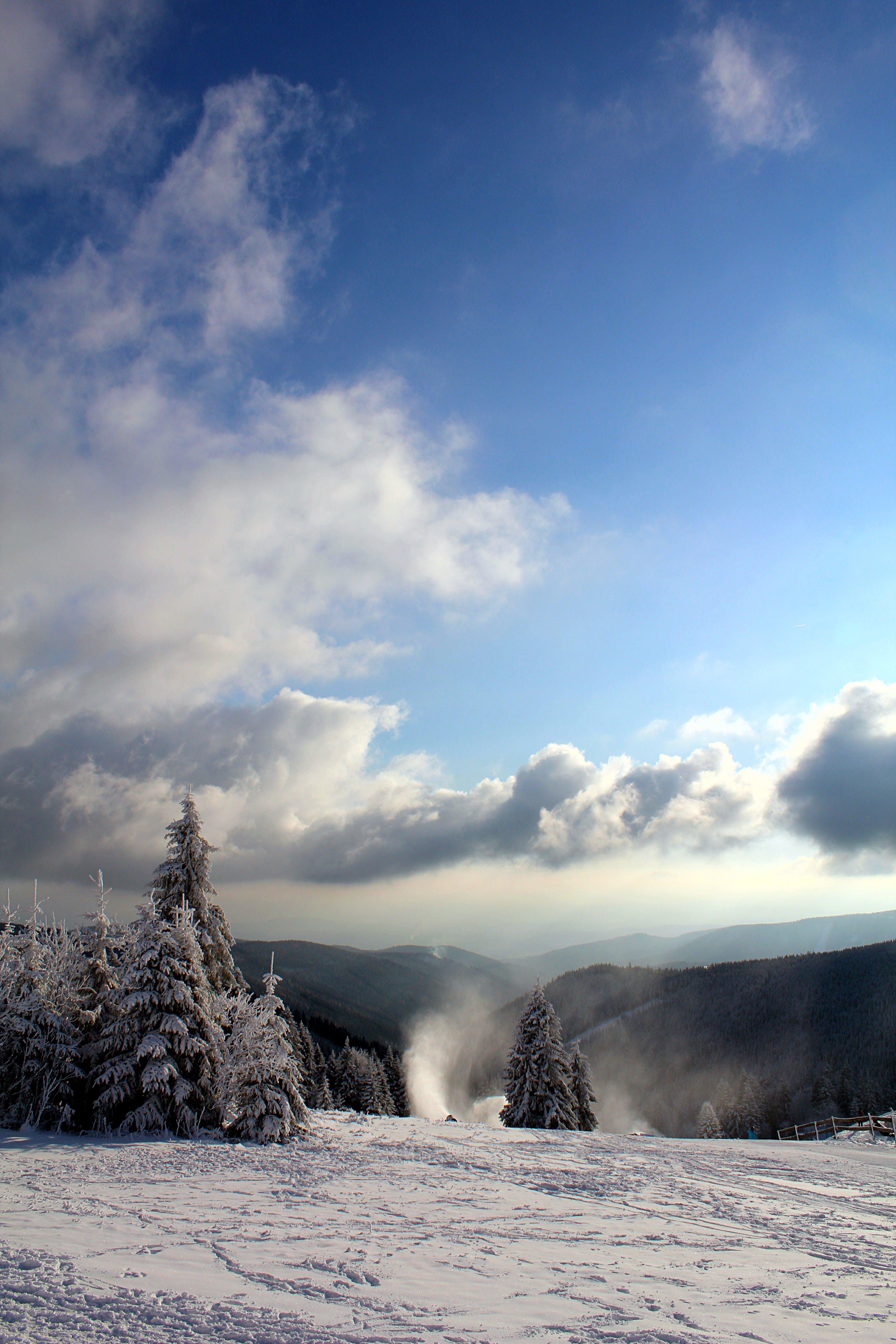 Foto stok gratis alam, awan, beku, berawan