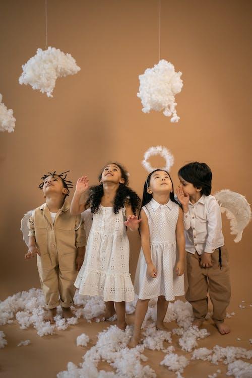 Fotos de stock gratuitas de adorable, ala, algodón