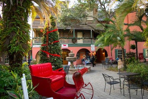 Free stock photo of christmas, christmas decorations, christmas sleigh, florida