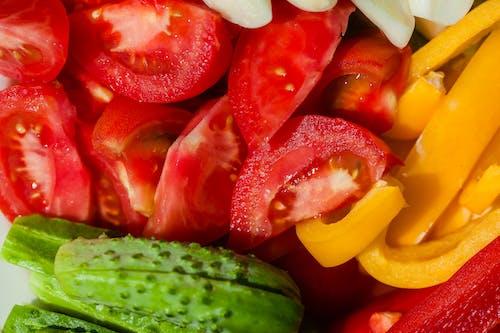 Fresh healthy vegetables for salad