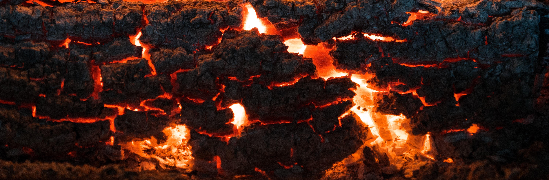 Free stock photo of burning, fire, log