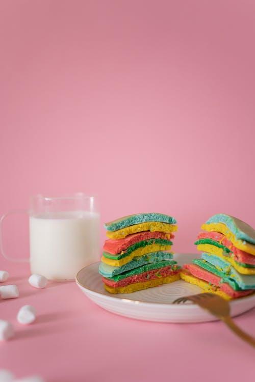 おいしい, お菓子, カットの無料の写真素材