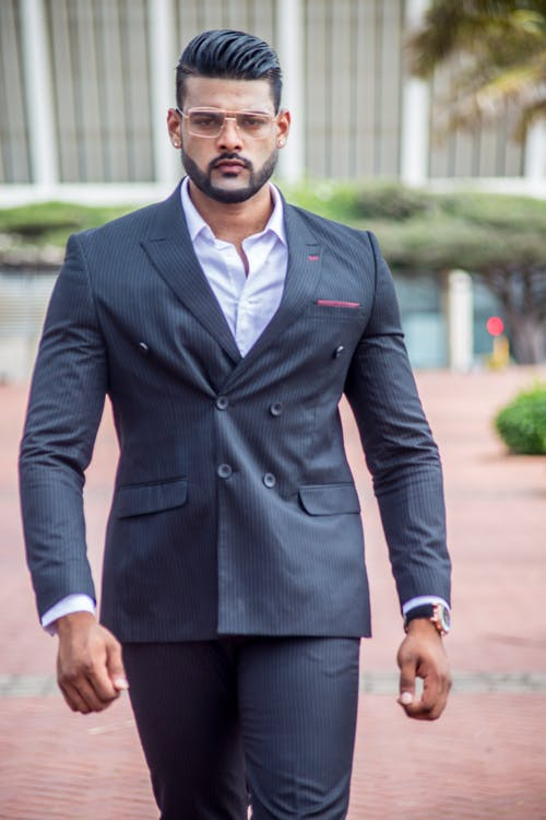 Free stock photo of bearded man, business suit, designer suit