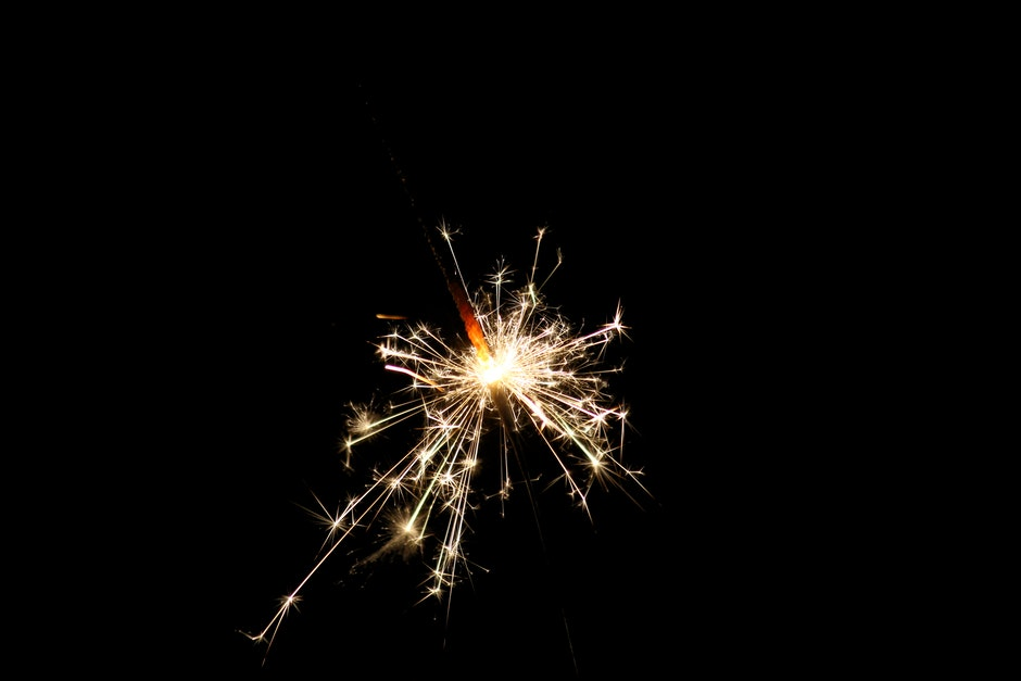 Photo of Illuminated Sparklers