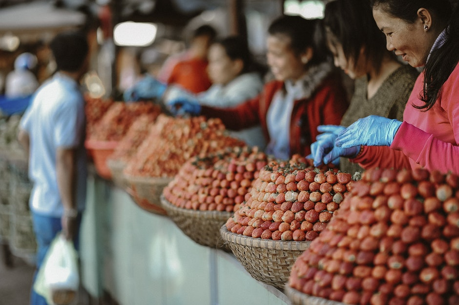 Girl's Orange Dried Fruits