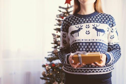 インドア, クリスマス, クリスマスツリー, クリスマスボールの無料の写真素材