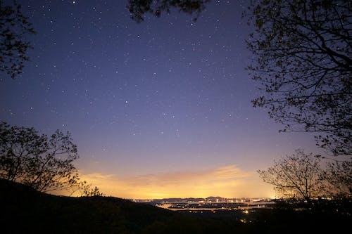 Ingyenes stockfotó celebek, csillagos égbolt, ég, éjszaka témában