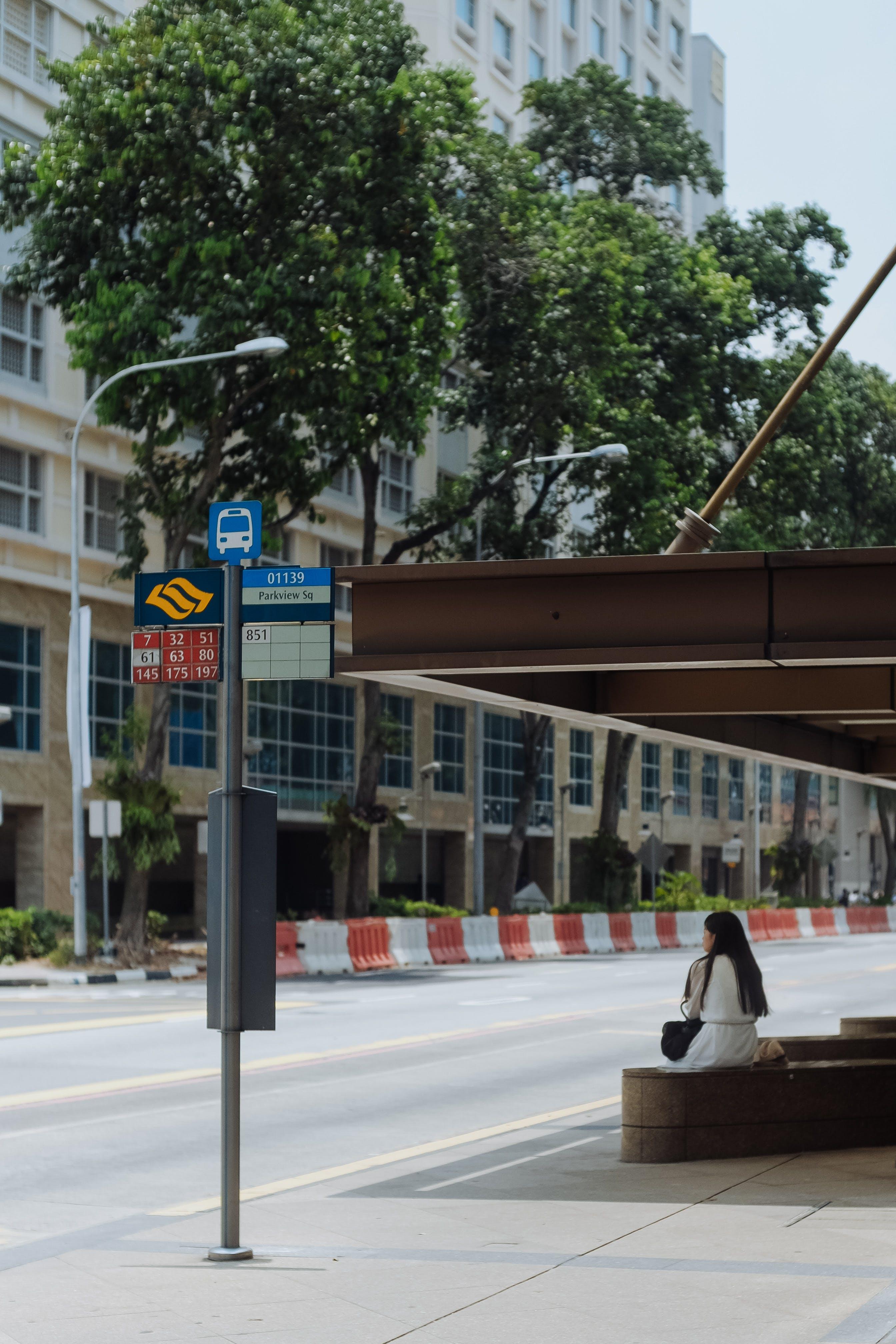 Free stock photo of people, street, bus, singapore