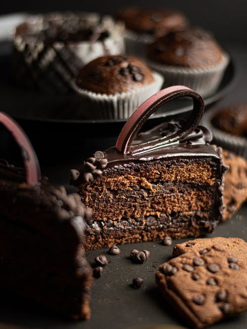 Gratis stockfoto met bruin, cake, chocolade