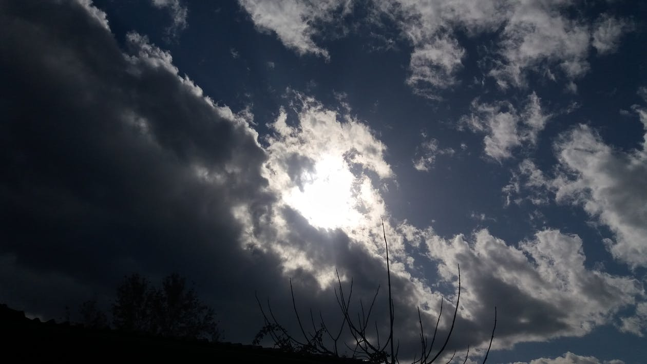 Free stock photo of blue, blue sky, cloud