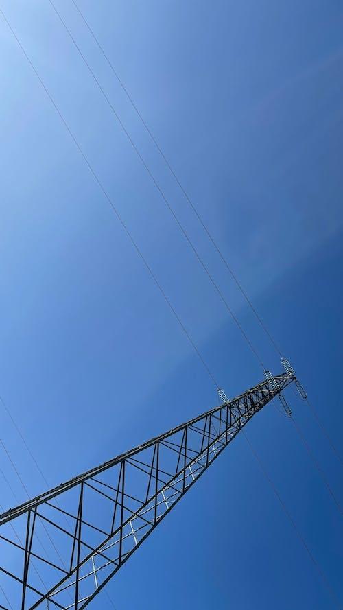Fotos de stock gratuitas de antena electrica, antena elettrica, cielo