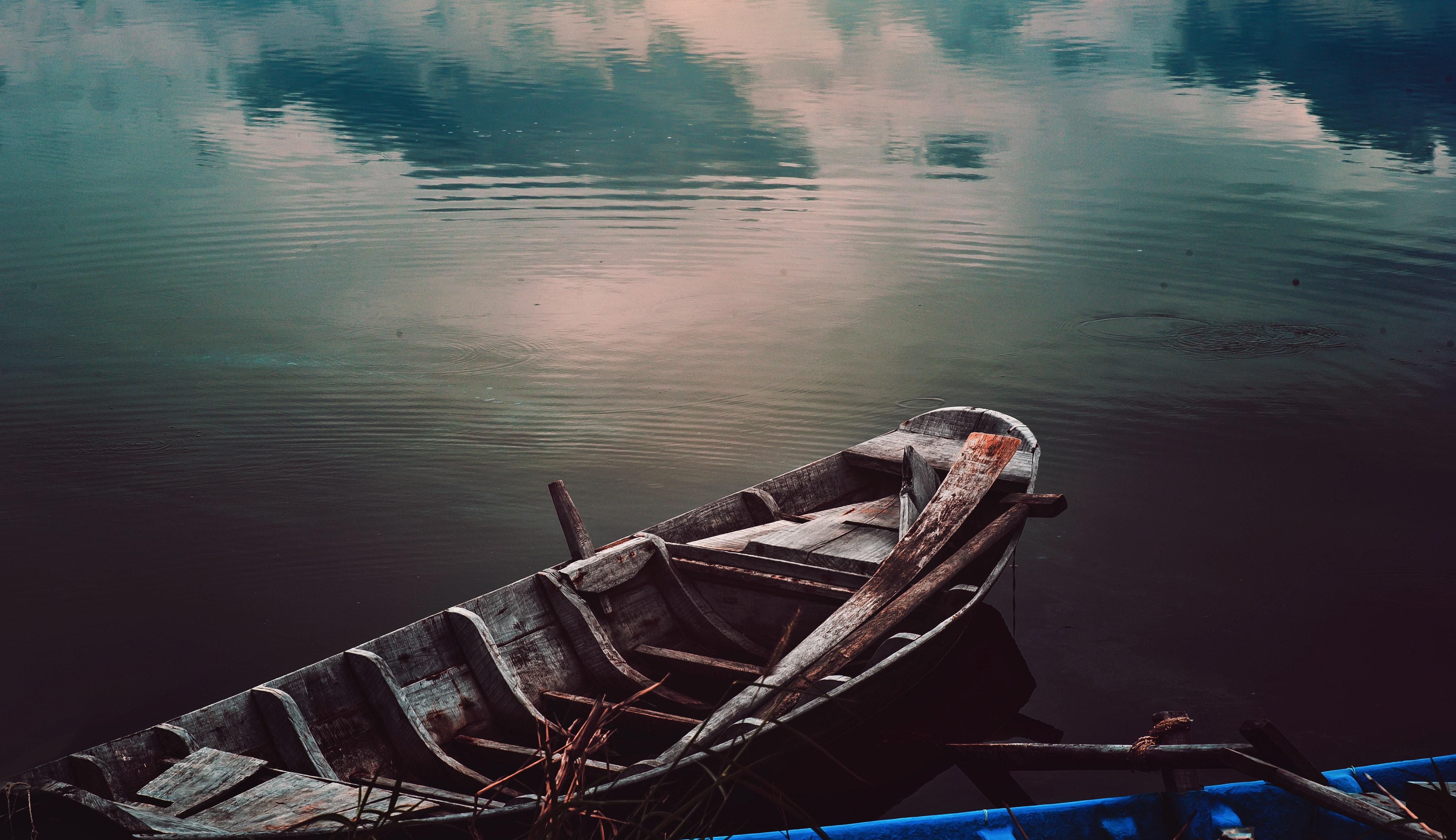 Red Canoe 183 Free Stock Photo
