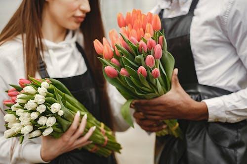 Foto stok gratis anggun, buket, bunga