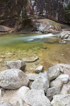 Free stock photo of nature, rocks, stream, river