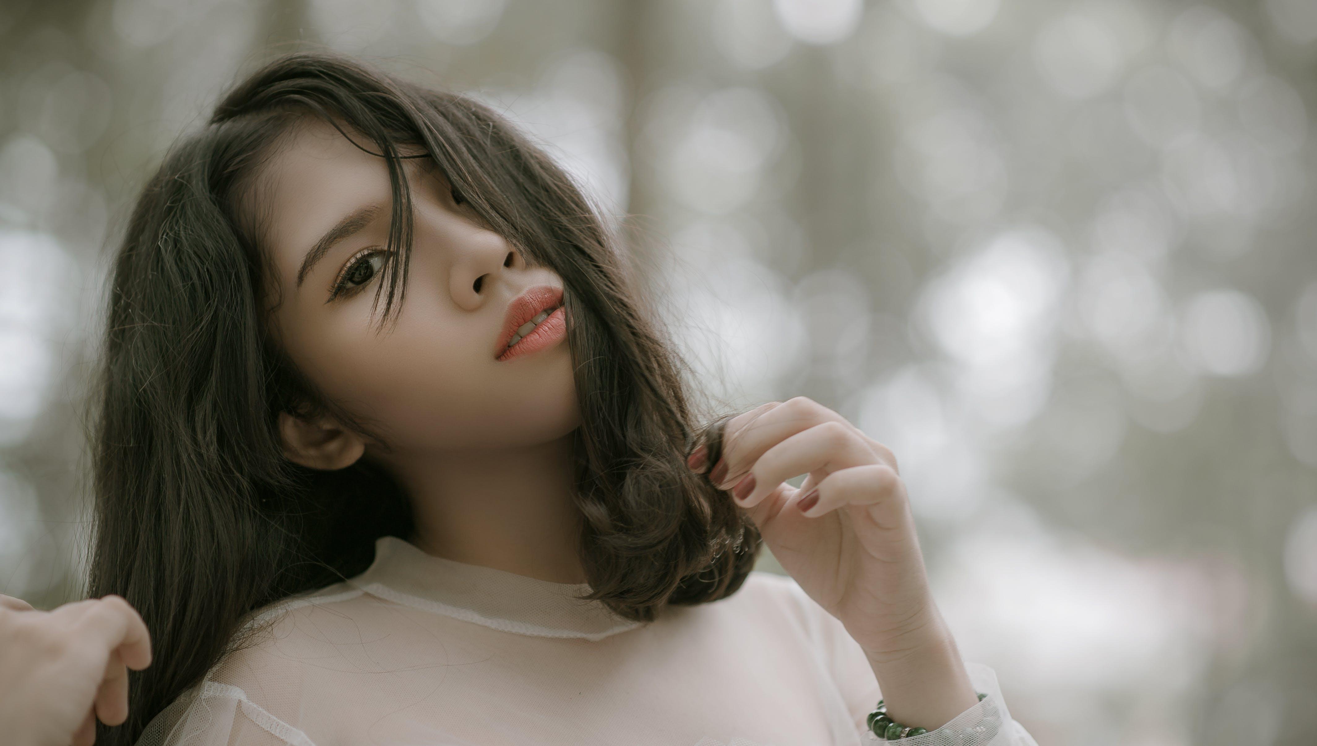 Gratis stockfoto met blurry achtergrond, fashion, fotoshoot, haar