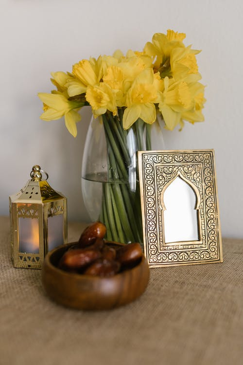 Traditional Displays On Table