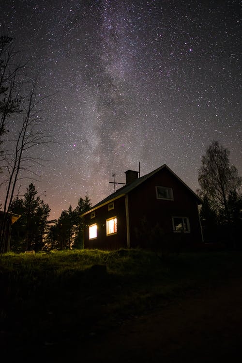 Photos gratuites de célébrité, étoile, longexpo, nuit