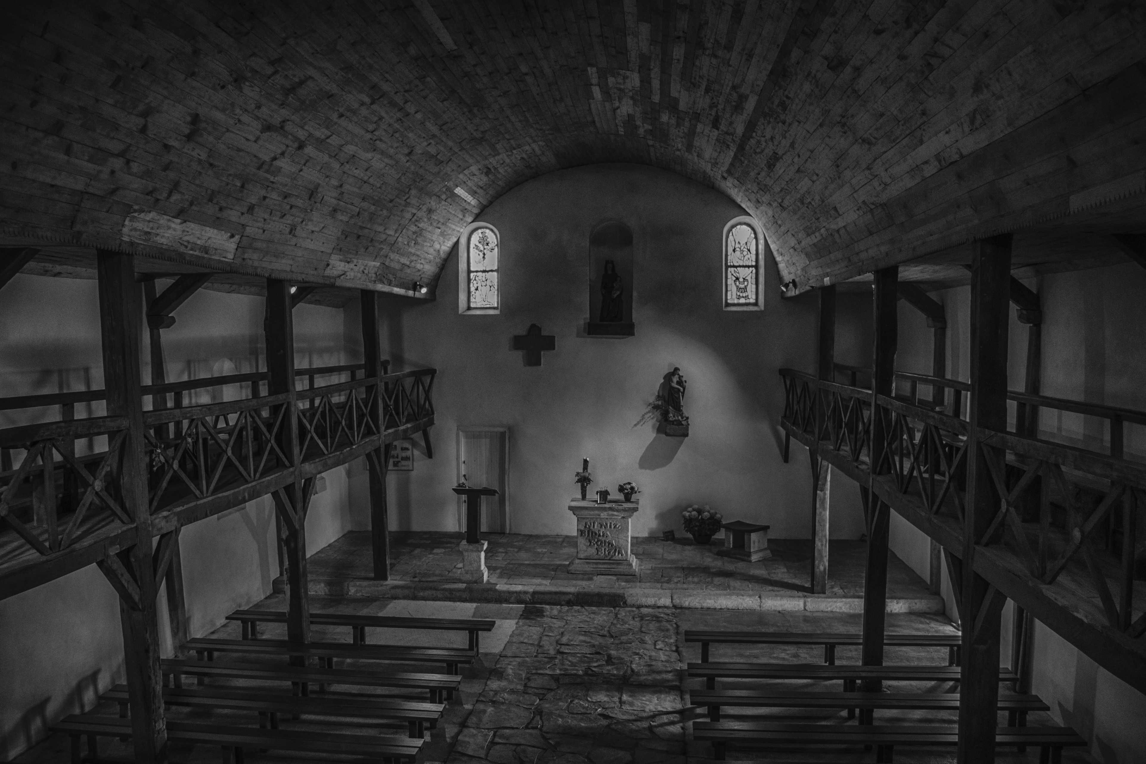 Free stock photo of Chapelle de la Madeleine-Tardets (64)