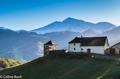 Бесплатное стоковое фото с la soule, montagne, neige, sommets