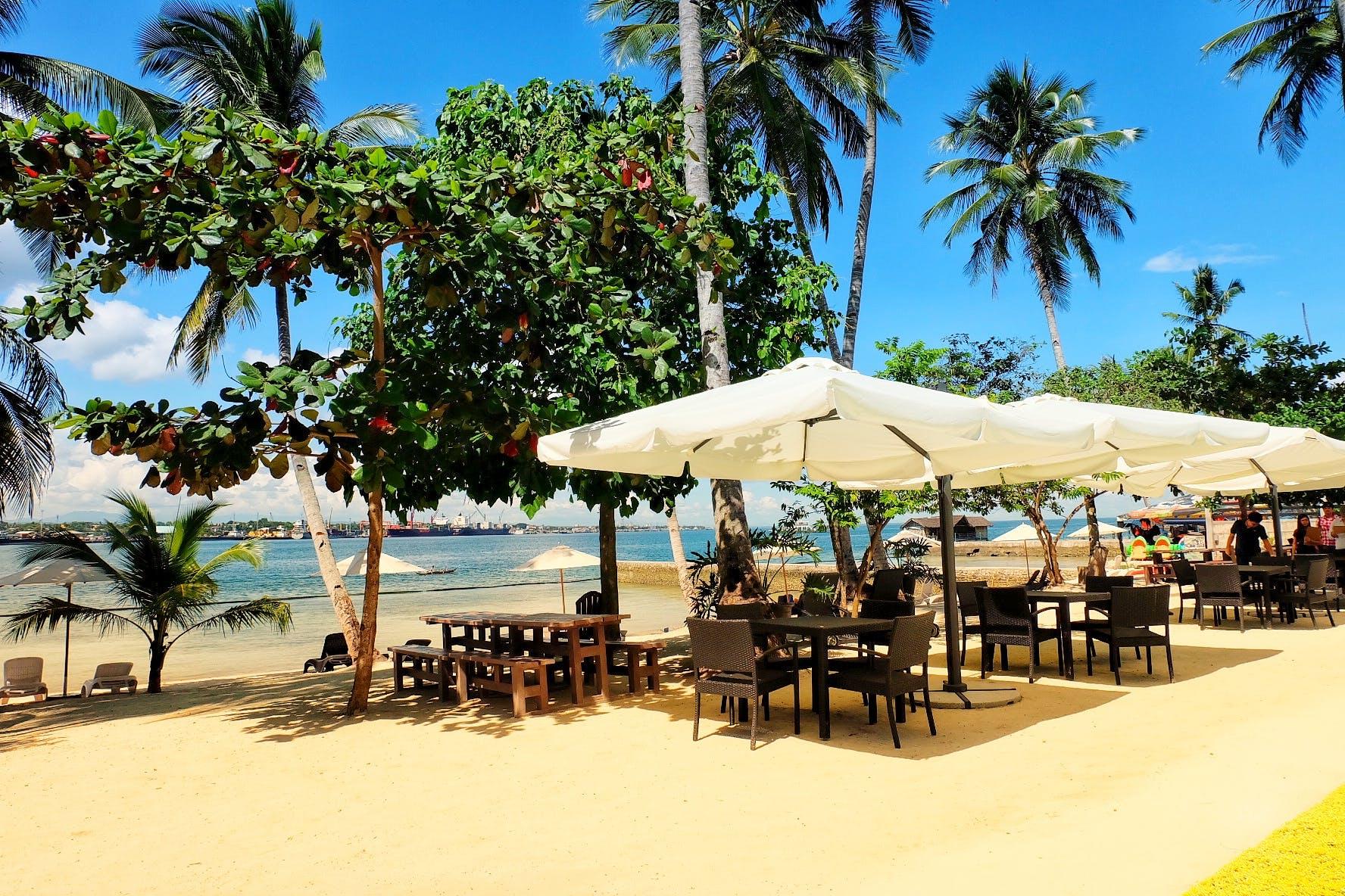 Free stock photo of beach, beach hut, Davao, Philippines