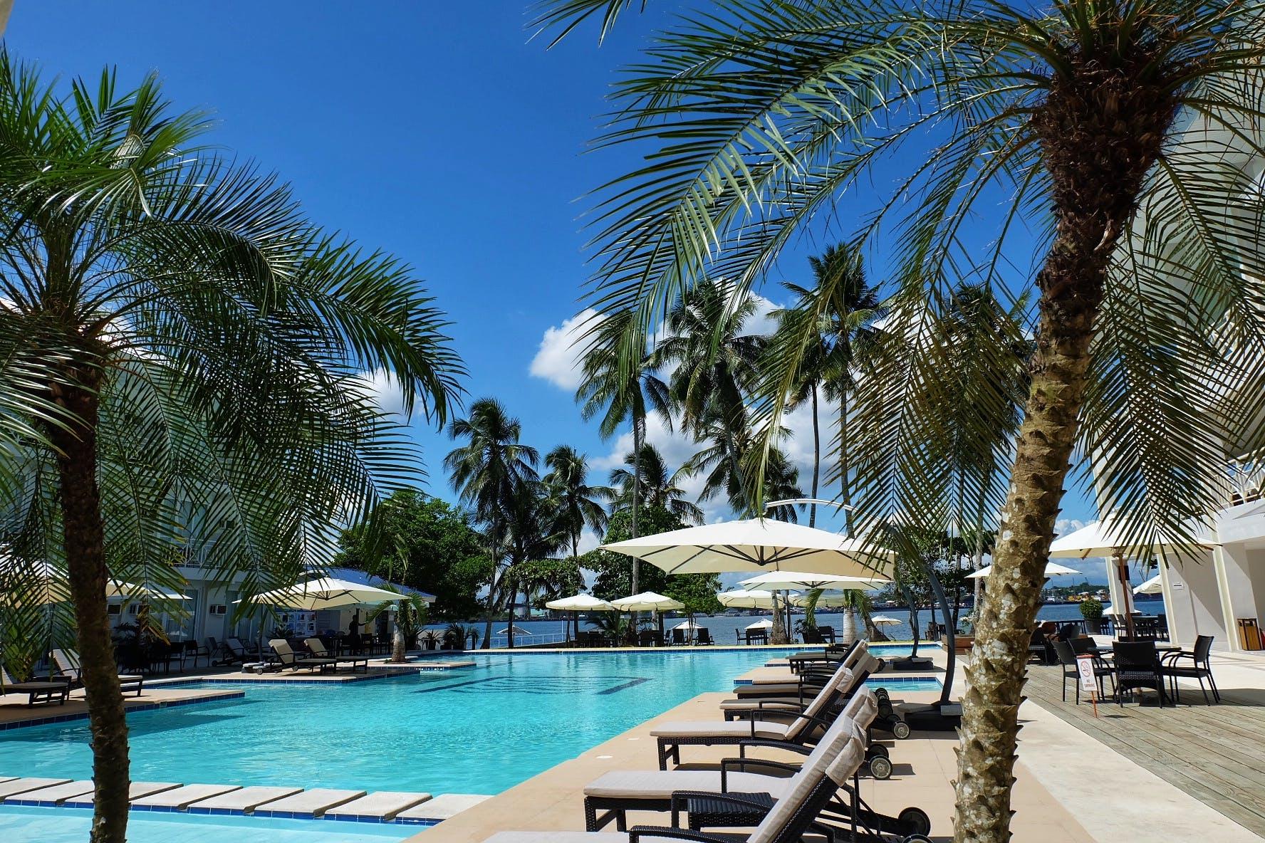 Free stock photo of beach resort, coconut trees, Philippines