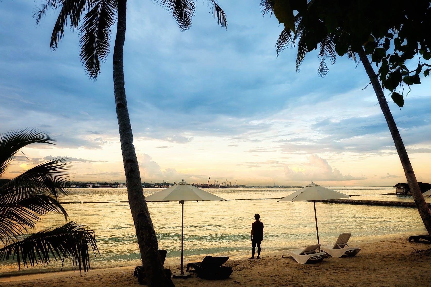 Free stock photo of beach, Philippines, sunset, view