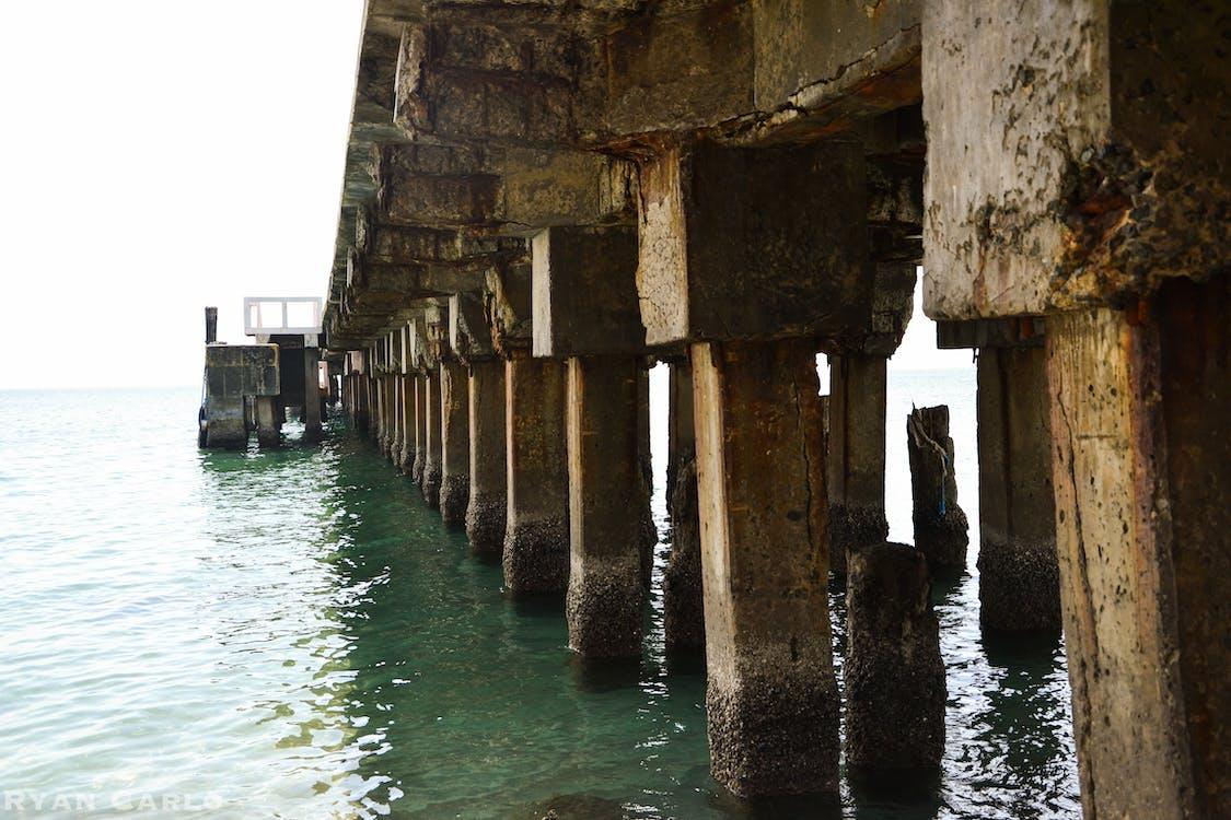 Free stock photo of abandoned, bay, bridge