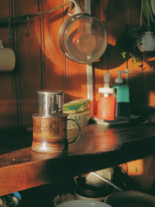 Free stock photo of coffee, filtered coffee, kitchen