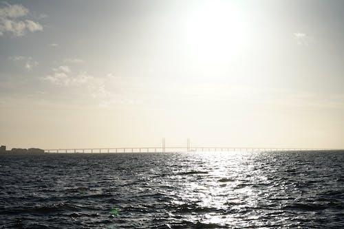 Free stock photo of bridge, golden horizon, horizon