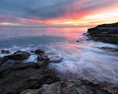 Δωρεάν στοκ φωτογραφιών με ακτή, ακτογραμμή, Ανατολή ηλίου