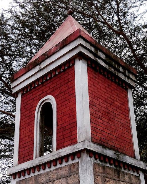 Free stock photo of brick texture, chimney, church building