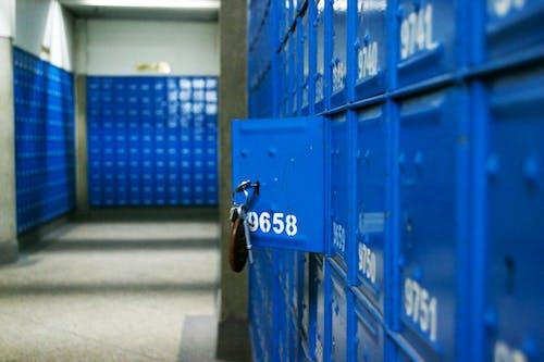 Free stock photo of blue color, kenya, postal