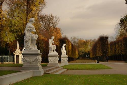 Free stock photo of landscape, park, statue