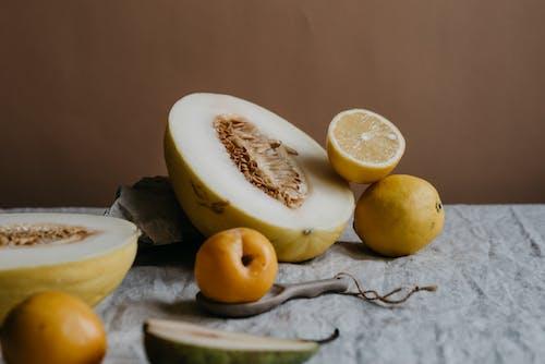 Studio Shot of Fruits