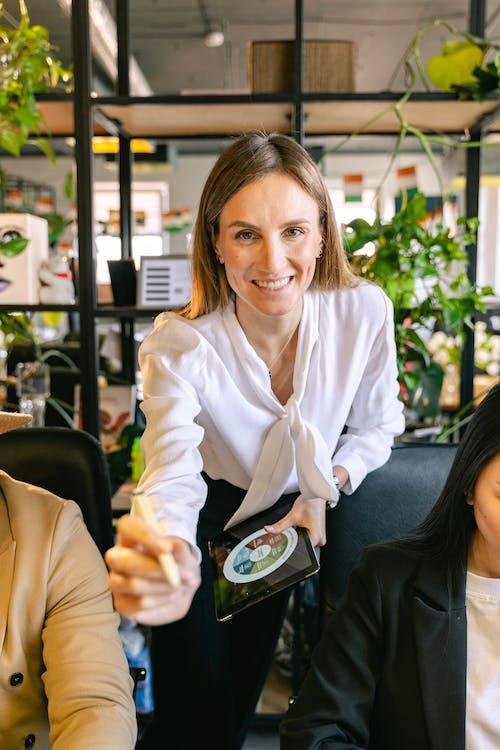 Portrait Shot of an Employee Wearing a Smart Casual Attire