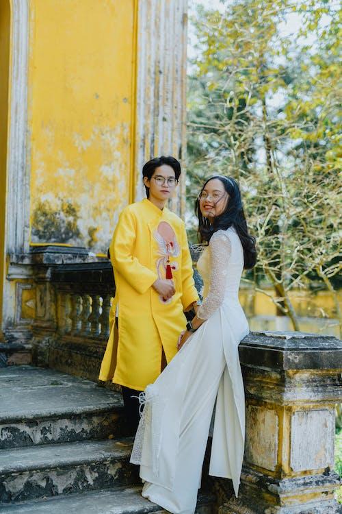 คลังภาพถ่ายฟรี ของ กลางแจ้ง, การปรากฏ, การแต่งงาน