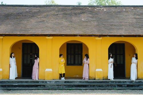 คลังภาพถ่ายฟรี ของ กลางแจ้ง, การแต่งงาน, ของเจ้าสาว