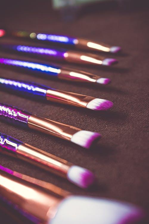 化妆刷, 化妆海绵, 化妝品 的 免费素材图片