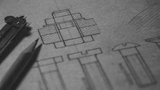 pencil, blur, design