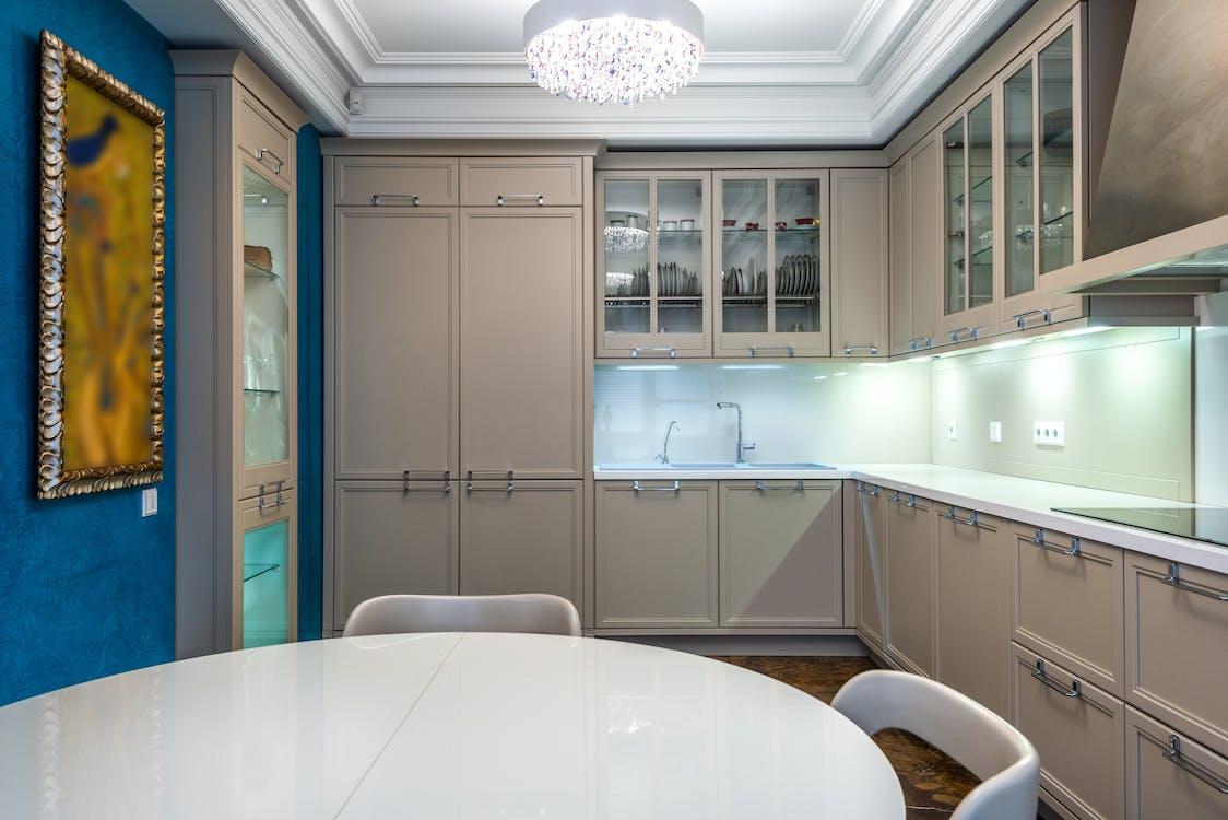 Clean Look Kitchen Interior