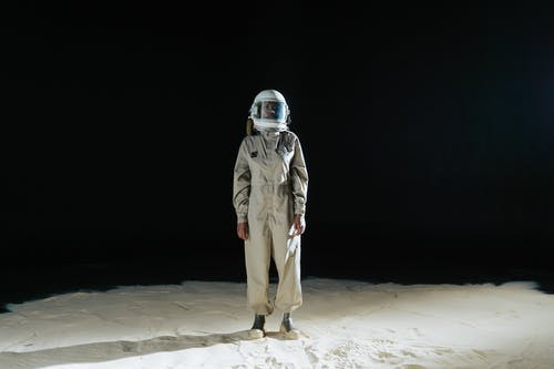 Person Wearing Spacesuit