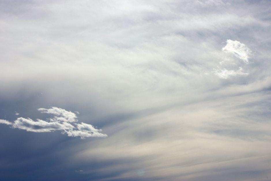 clouds, cloudy, sky