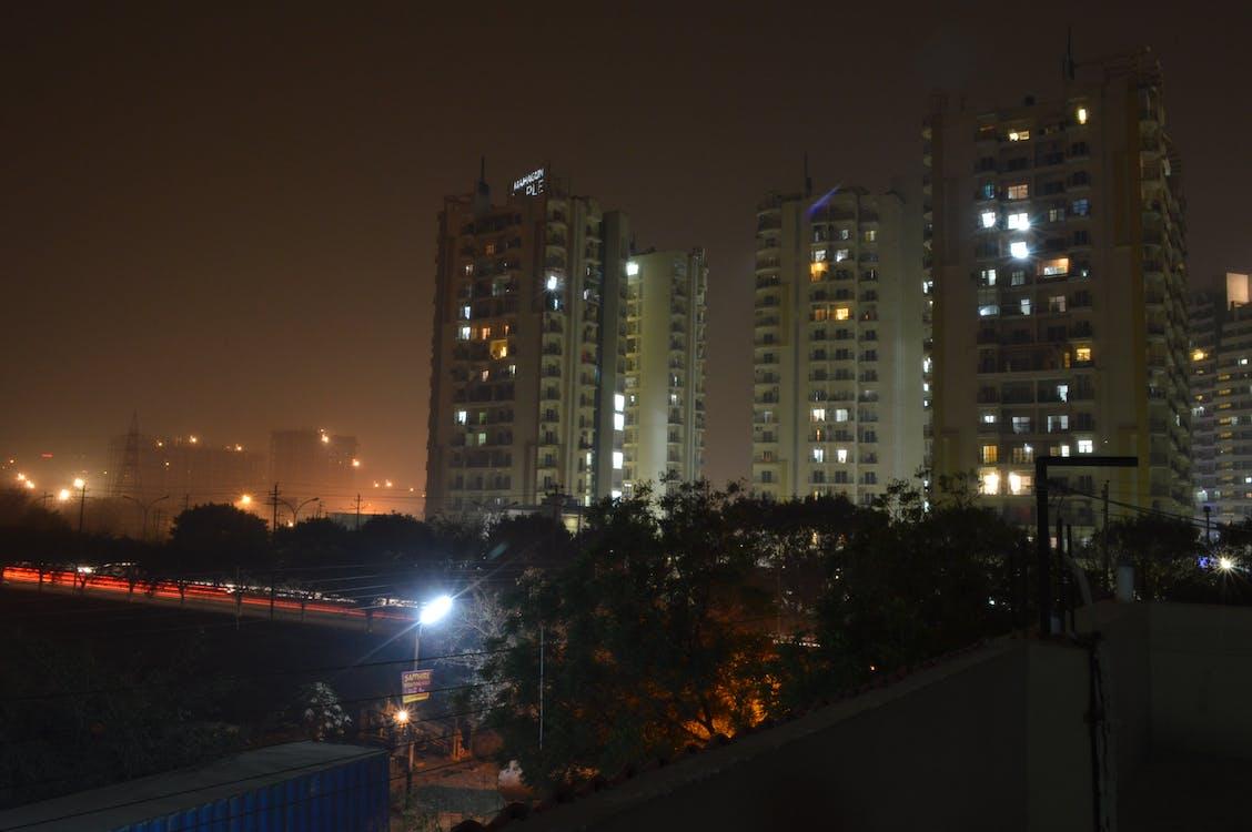 Gratis arkivbilde med nattfotografi