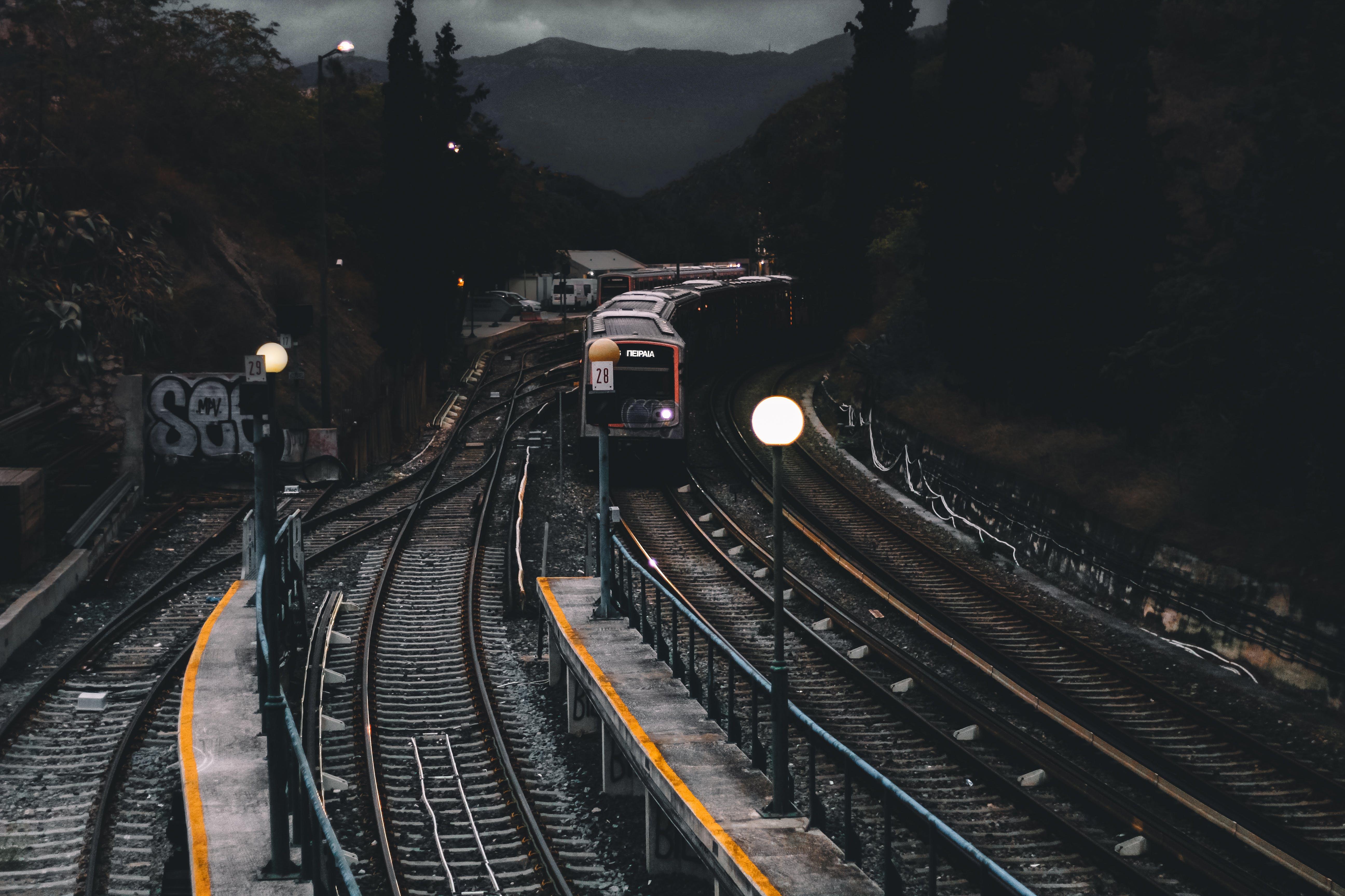 가로등, 강철, 교통체계