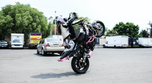 Бесплатное стоковое фото с Адреналин, девочка, мотоцикл, сделано в мексике