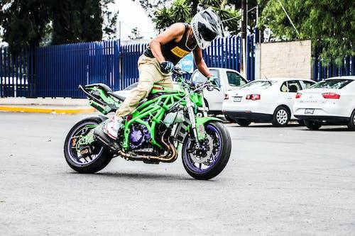 Бесплатное стоковое фото с zx6r, иоав, кавасаки, мотоцикл