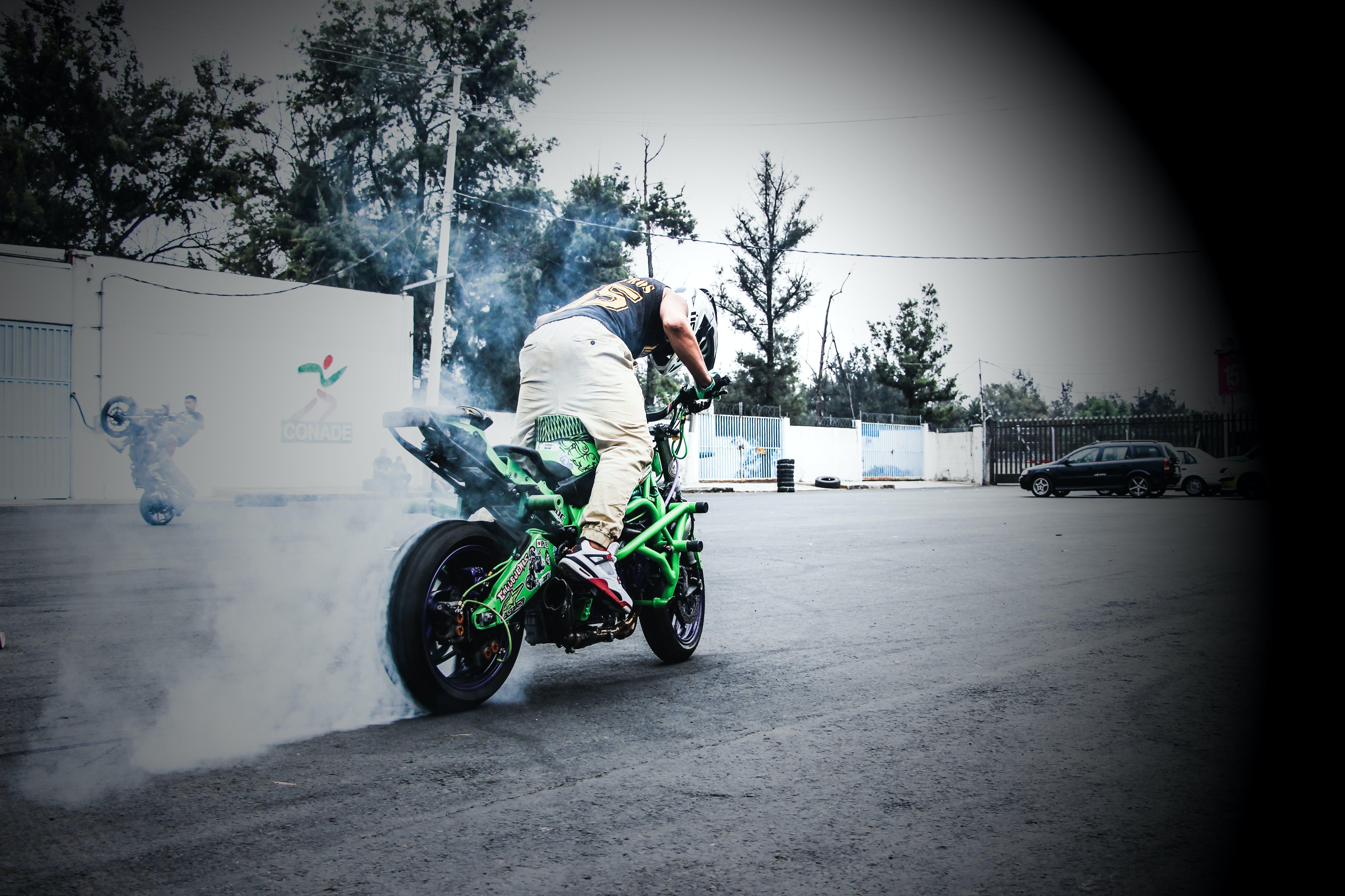 Free stock photo of bike, kawasaki, motorcycle